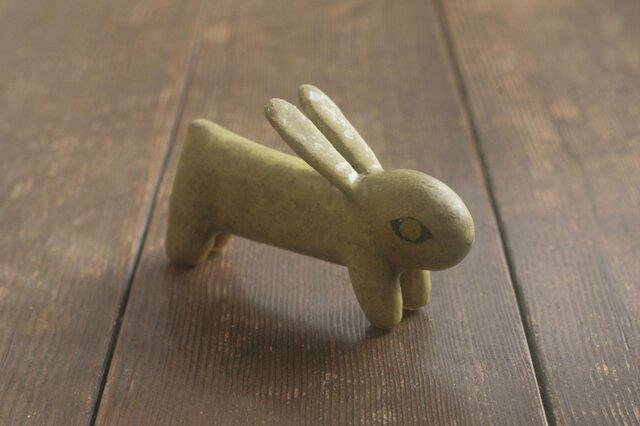 兎◦出来人形◦立◦190813の画像1枚目