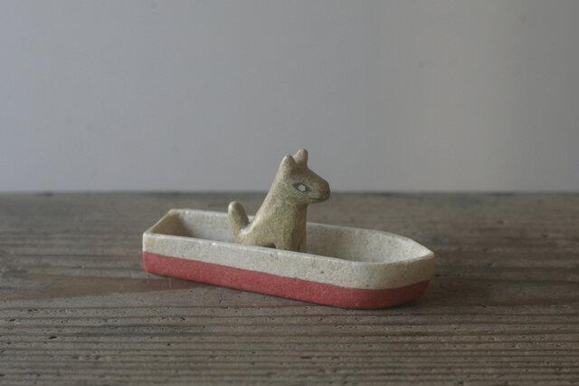 犬舟◦再◦出来人形◦犬◦坐◦舟◦191023の画像1枚目