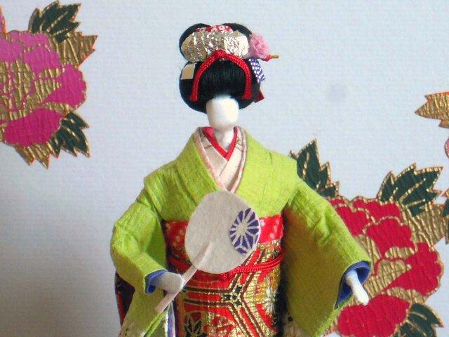 舞妓さん(都をどり) 和紙人形の画像1枚目