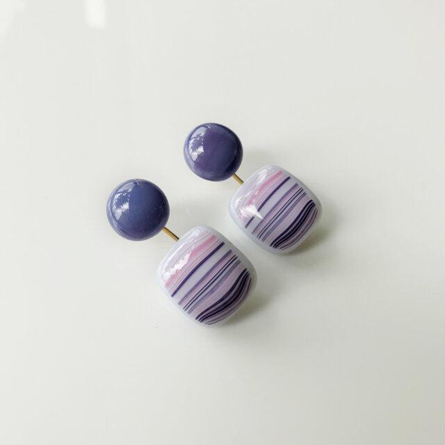 Pierce Purple × Stripedの画像1枚目