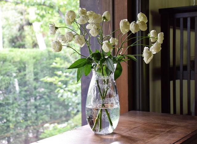 泡螺旋花瓶の画像1枚目