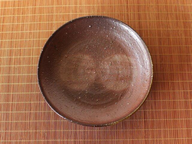 備前焼 皿(17.5cm) sr3-058の画像1枚目