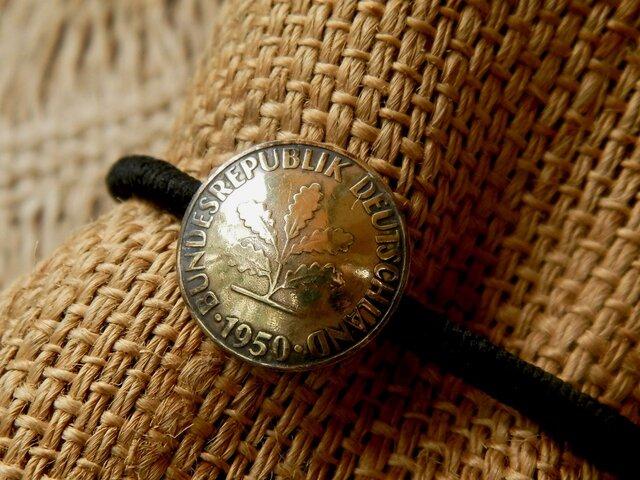 #H21 Deutsche(旧西独)Coin Hair Elasticの画像1枚目