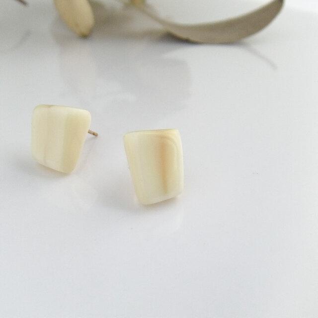 k10✼Makkoh pierced earrings 92042の画像1枚目