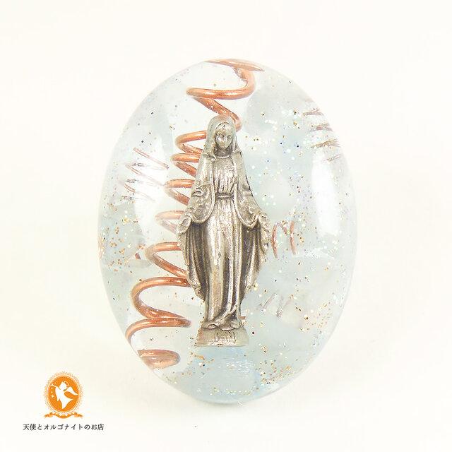 マリア様のミニオルゴナイト アクアマリン cm1030maryaqu00011の画像1枚目