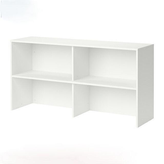 オーダーメイド 職人手作り オープンシェルフ 収納棚 白家具 ホワイト モノトーン 天然木 木工 木製 サイズオーダー可の画像1枚目