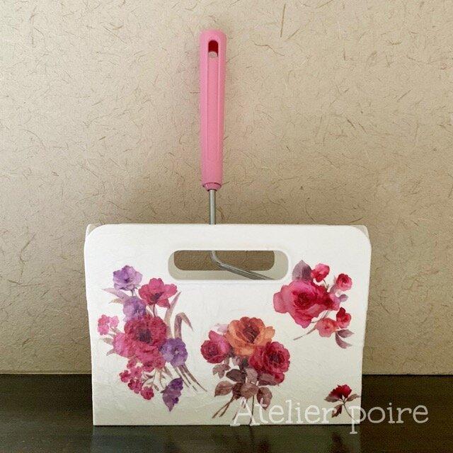 コロコロクリーナーケース*purple roseの画像1枚目