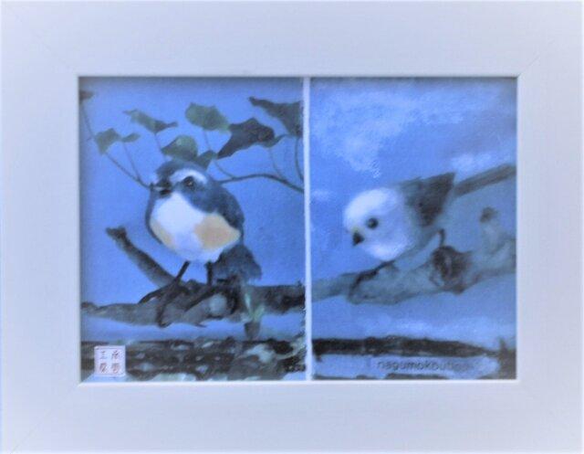 癒しの小鳥たち ≪卓上&壁掛け≫の画像1枚目