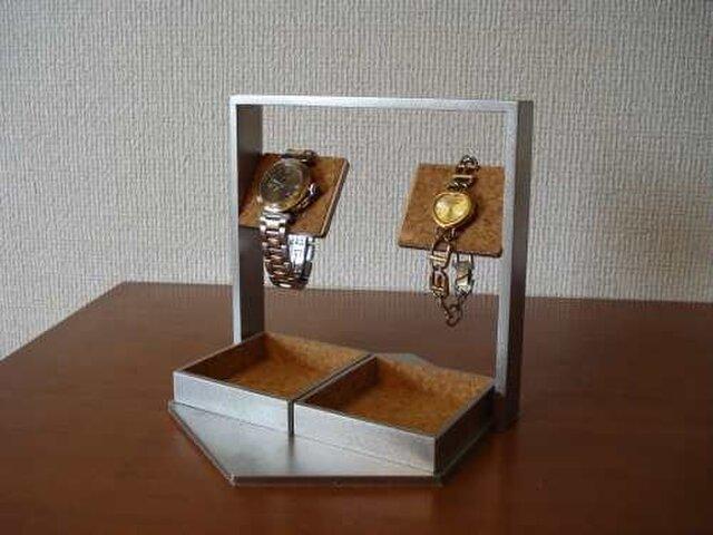 プレゼントに デカイトレイ腕時計スタンドの画像1枚目