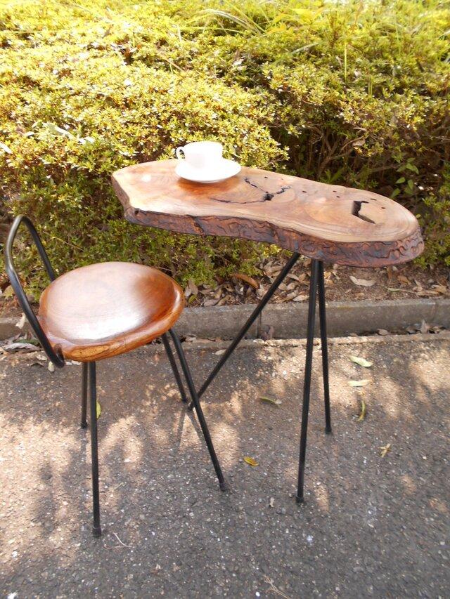 ひとりカフェテーブル08-18(テーブルのみ)の画像1枚目