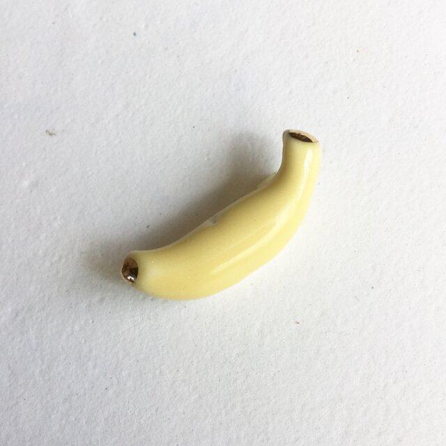 陶ブローチ バナナの画像1枚目