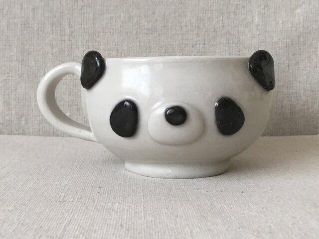 パンダコーヒーカップの画像1枚目