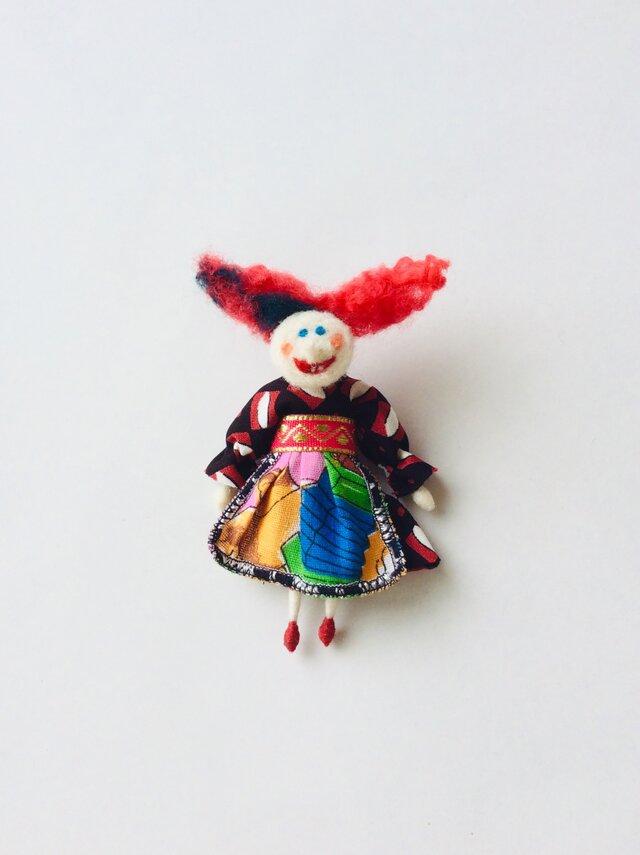 Kikimora (ロシアの妖精) / ブローチの画像1枚目
