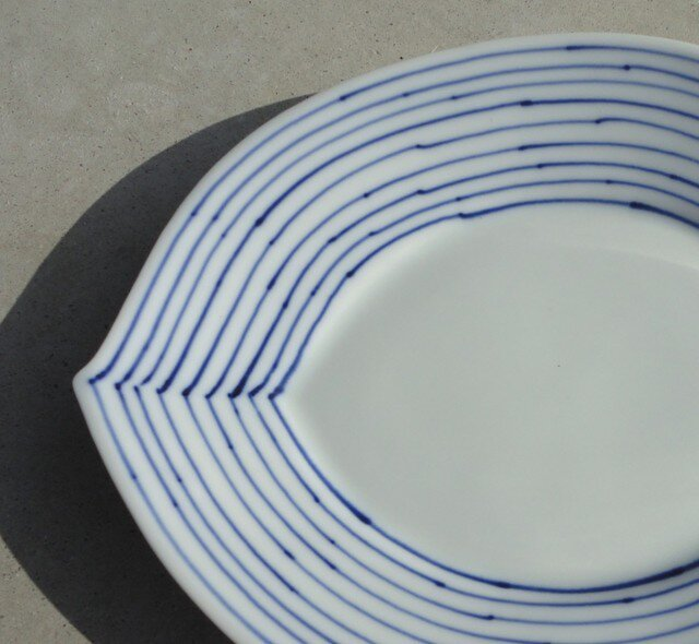 葉っぱのお皿 24㎝の画像1枚目