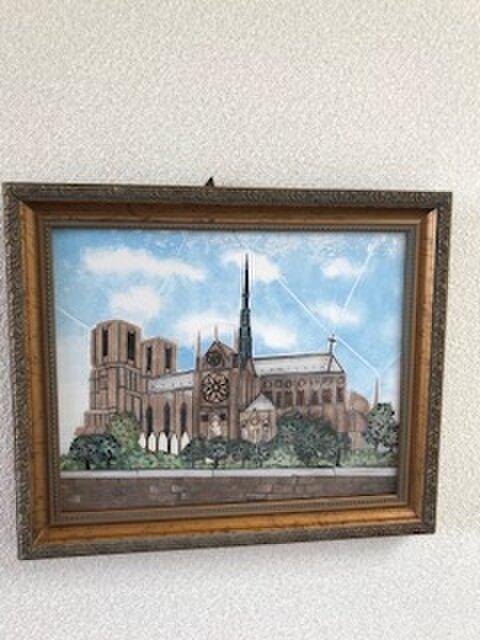 フランスのノートルダム大聖堂(世界遺産)MOKOMOKO様お取り置きです!!の画像1枚目