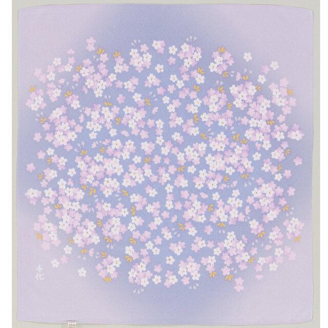 風呂敷 宇野千代 70cm幅 おぼろ桜の画像1枚目