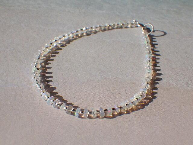 *sv925* Opal Rainbow Braceletの画像1枚目