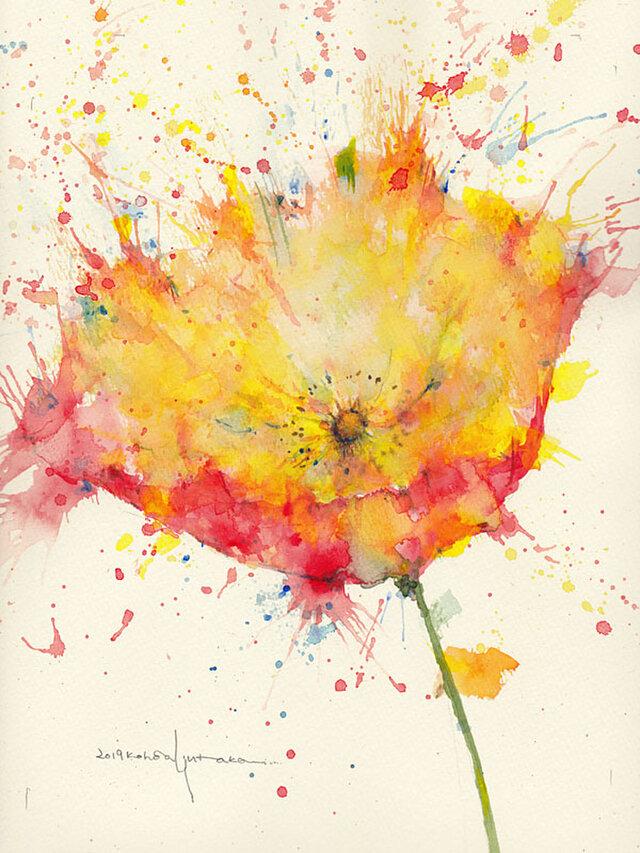 Flower 25 (額縁付き)の画像1枚目