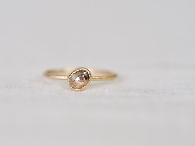 Kaleidoscope Diamond Pinky Ringの画像1枚目