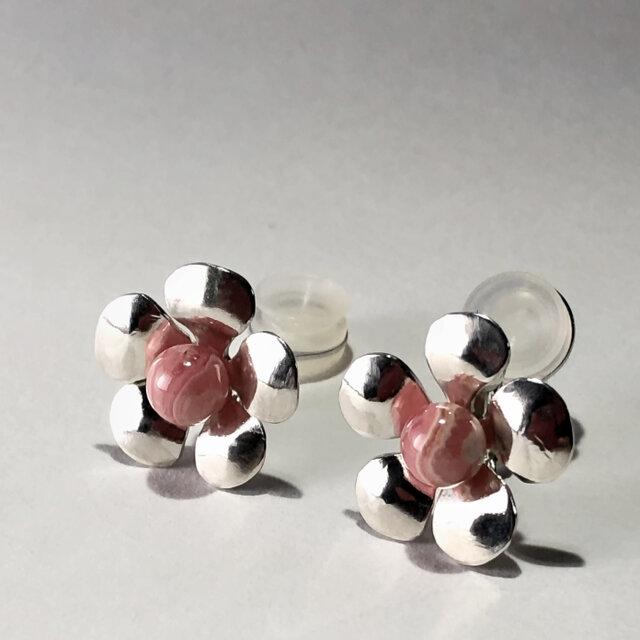 Flower Earrings : Clip typeの画像1枚目