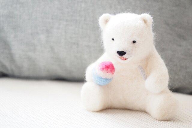 氷いちごシロクマの画像1枚目