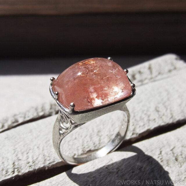 モルガナイト * Morganite Ringの画像1枚目