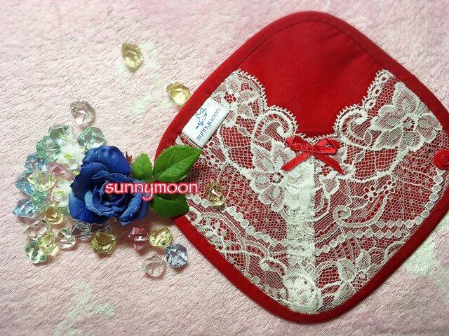 sunnymoon☆ランジェリータイプの布なぷライナー「fairyルビー」の画像1枚目
