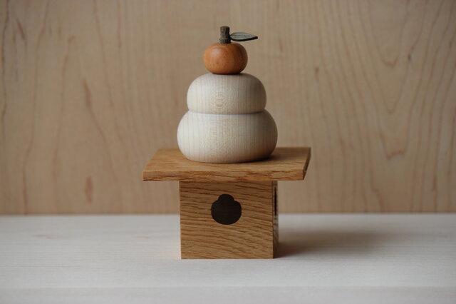 木製鏡餅の画像1枚目