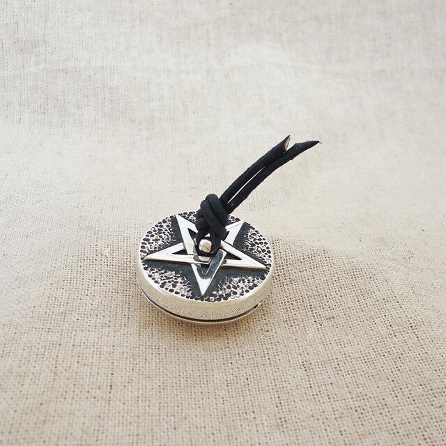 卓上の鈴 『 五芒星 』 銀製(シルバー925)の画像1枚目