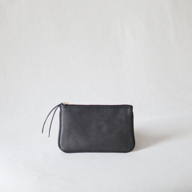 レザーウォレット コインポケット付 ミニサイズ 総手縫の画像1枚目