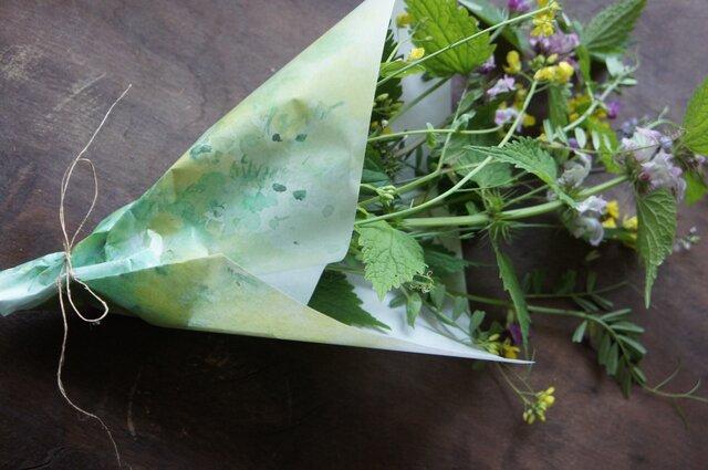 包装紙【菜の花】の画像1枚目