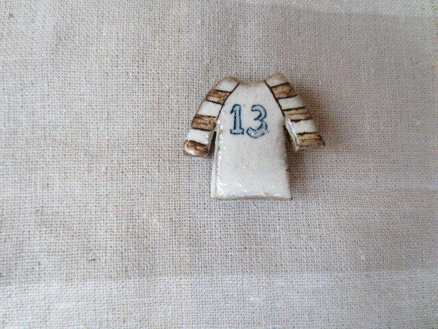 Tシャツブローチ「13」の画像1枚目