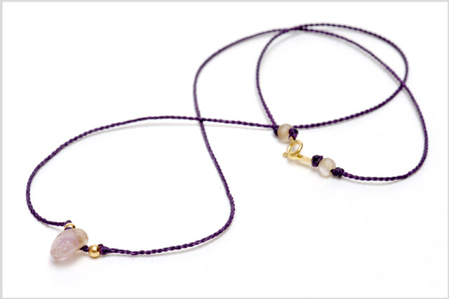 Ancient Roman Amethyst Pendant 古代ローマ紫水晶の装身具の画像1枚目
