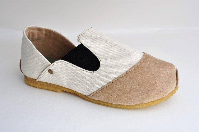 【受注製作】ROUND slip-on sneakersの画像1枚目