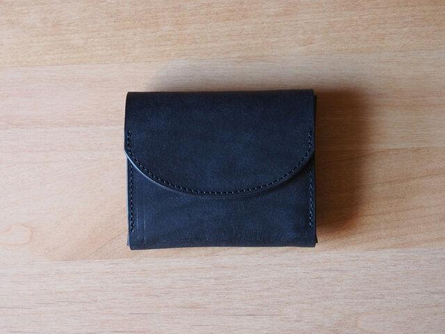 palm(carbon black) - コンパクトウォレット(カーボンブラック)           ミニ財布 コンパクト財布の画像1枚目