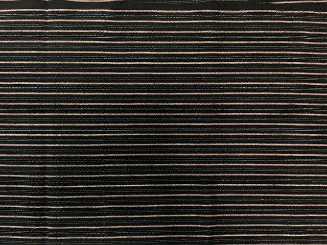 f0023古布・古裂 縞文様☆布団布の解き 一幅100cm☆しっかりした木綿☆の画像1枚目