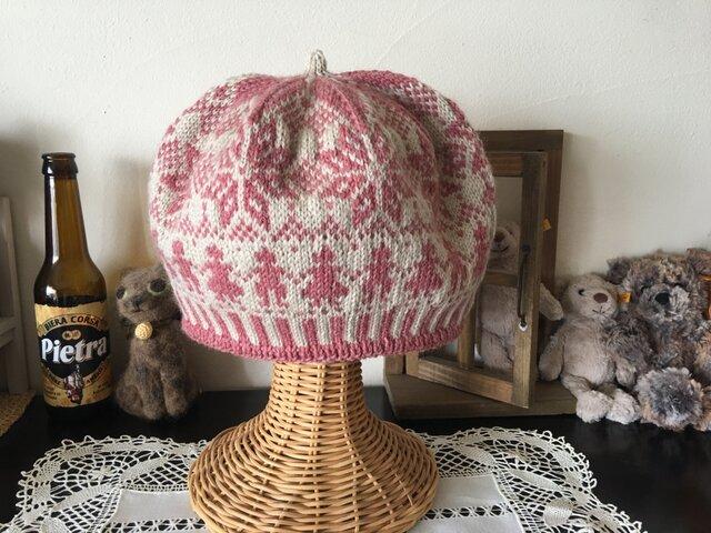 北欧トラディショナルベレー帽 【シュガーベリー】の画像1枚目