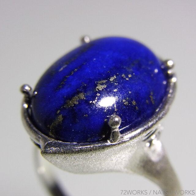 ラピスラズリ リング * Lapis Lazuli Ringの画像1枚目