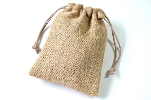 コーヒー袋に似せて cofee・巾着袋 【 Simple 】の画像1枚目