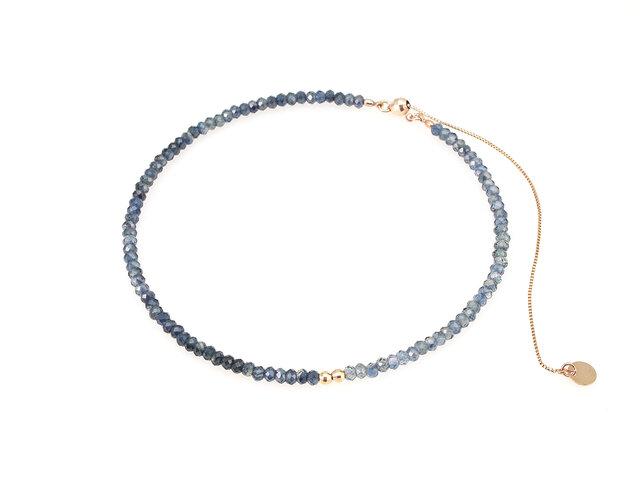 Stone Bracelet / Sapphireの画像1枚目