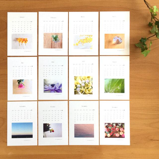 《送料無料》  2020年 カレンダー ポストカードサイズの画像1枚目