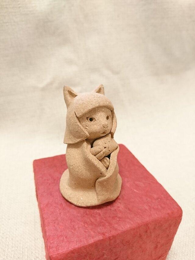 猫子守り地蔵(やきしめ①)の画像1枚目