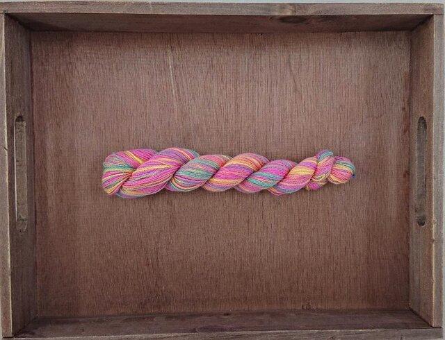 インダスからの贈り物(オリジナル段染め糸 細)㊵1本の画像1枚目