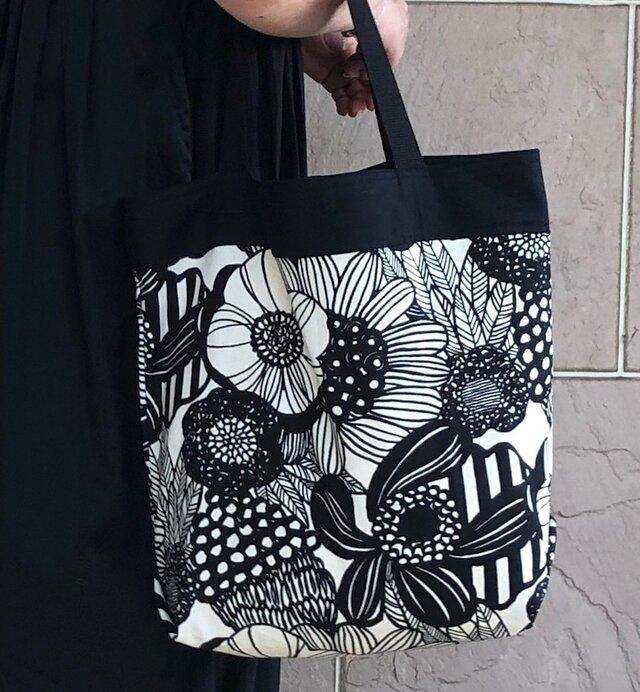 コンパクト おかいのもかばん  ナチュラルアートフラワー 受注製作の画像1枚目