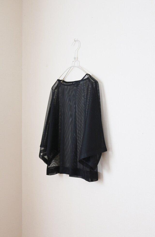たっぷり袖のドルマン トップス メッシュ ヨガ用の画像1枚目