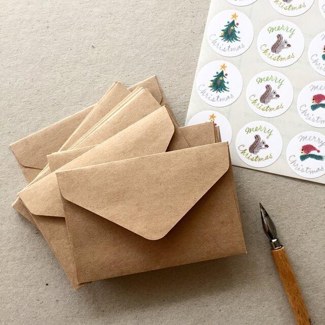 選べるシールと封筒20枚セットの画像1枚目