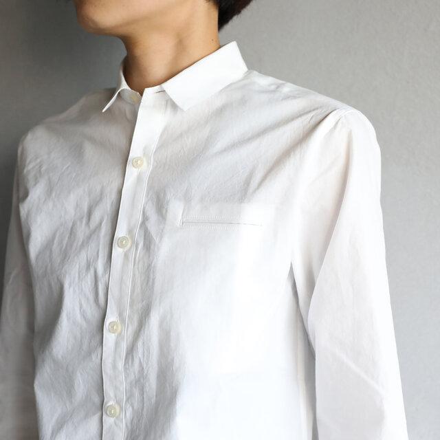 003Wオーガニックコットンシャツsize2【ユニセックス】の画像1枚目