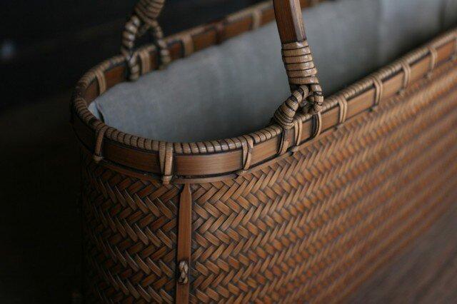 網代編みバッグの画像1枚目