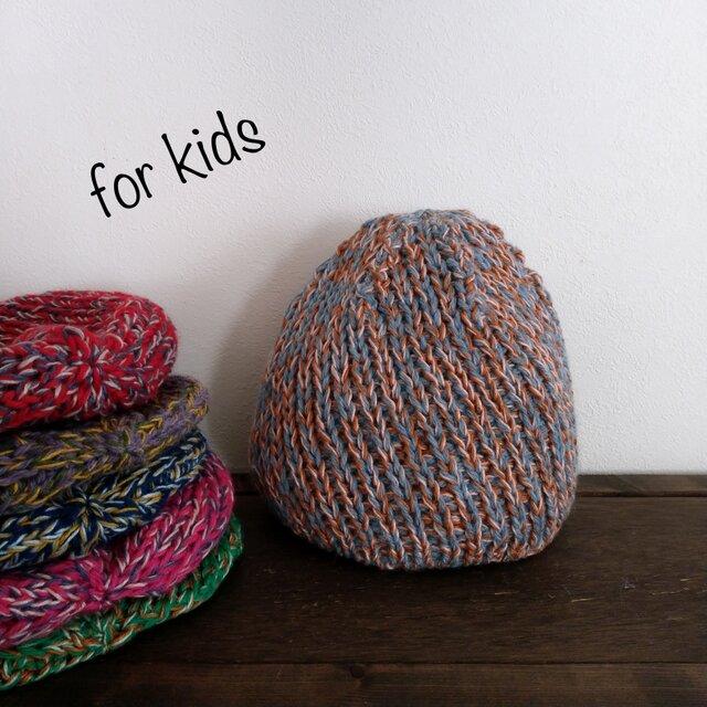 [Kids] どんぐり帽子の画像1枚目