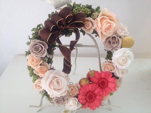 pre-flower wreath20-2♡ (sample) の画像1枚目